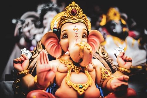 Pic: A Ganesha God Murti