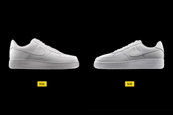 2 Nike Shoes Real & Fake that look exactly alike