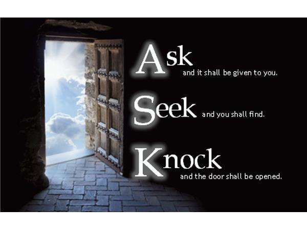 seek and ye shall find meaning